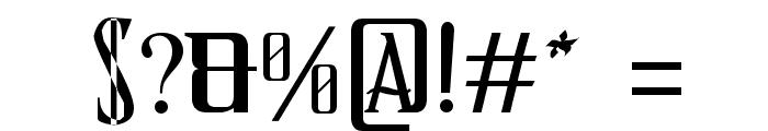 Schindler s Font Font OTHER CHARS