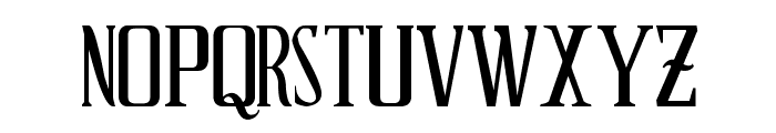 Schindler s Font Font LOWERCASE