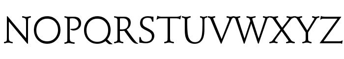 Schindler Font UPPERCASE