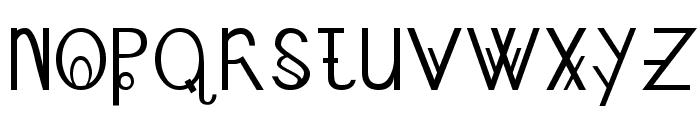 Schizcase Font UPPERCASE