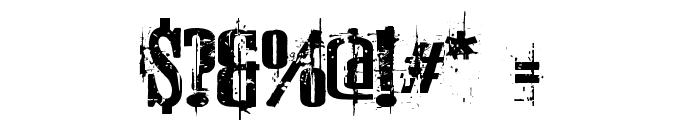 Schkorycza Font OTHER CHARS