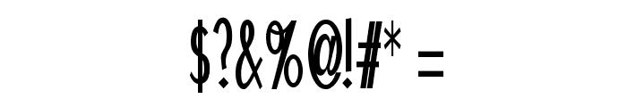 Schlimeyer Book Font OTHER CHARS