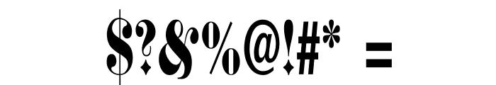 SchmalfetteFraktur Font OTHER CHARS