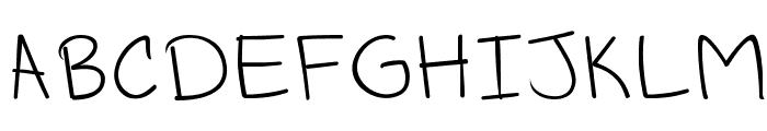 Schmitacular! Font UPPERCASE
