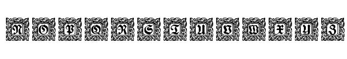 Schmuck-Initialen 2 Font UPPERCASE