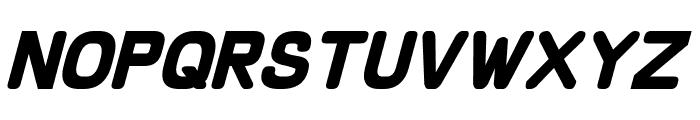 Schnaubelt Bold Italic Font LOWERCASE