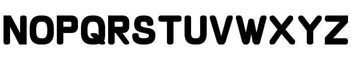 Schnaubelt Bold Font LOWERCASE