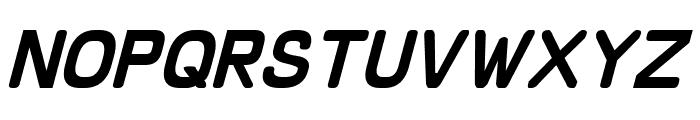 Schnaubelt Italic Font UPPERCASE