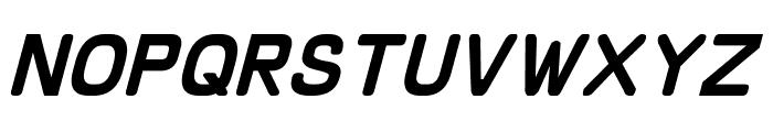 Schnaubelt Italic Font LOWERCASE