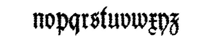 Schneider Buch Deutsch Trash Free Font LOWERCASE