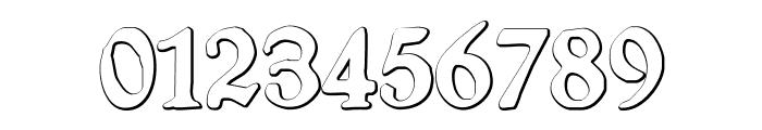 SchneidlerHalbFetteBeveled Font OTHER CHARS
