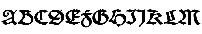 SchneidlerSchwabacher Font UPPERCASE
