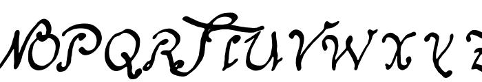 Schnitger_1680_Regular.TTF Font UPPERCASE