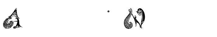 SchnoerkelCaps Font OTHER CHARS