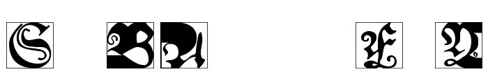 SchoenspergerCaps Font OTHER CHARS