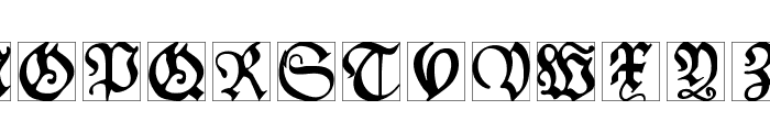SchoenspergerCaps Font UPPERCASE