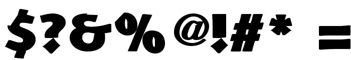 Schonan-Black Font OTHER CHARS