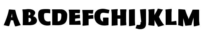 Schonan-Black Font UPPERCASE