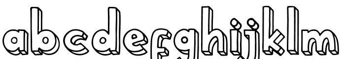School Holic 4 School Holic 4 Font LOWERCASE