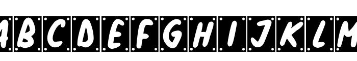 School Play Font UPPERCASE