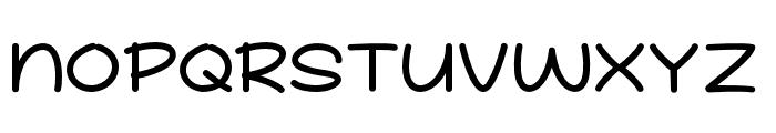 School Story Font UPPERCASE