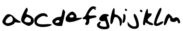 SchoolFont Font LOWERCASE