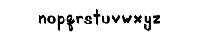 SchoolRules Font LOWERCASE