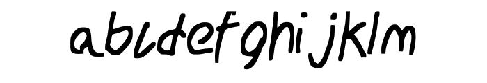 School_Daze Font LOWERCASE