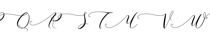 Schoolkid Light Font UPPERCASE