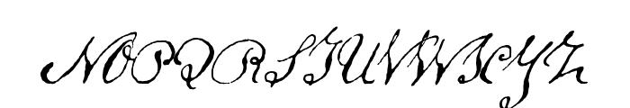Schoon Font UPPERCASE