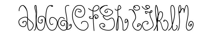 Schosszeit1 Font LOWERCASE