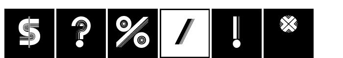 Schraffura Font OTHER CHARS