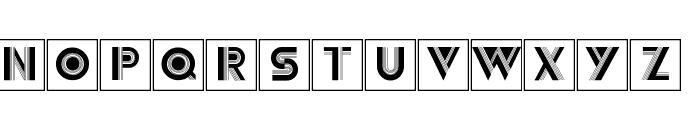 Schraffura Font LOWERCASE