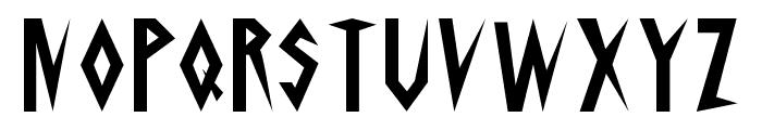 Schrill Font UPPERCASE