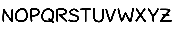 SchuboiseHandwrite Font UPPERCASE