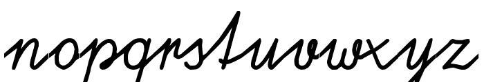 Schulschrift95  Normal Font LOWERCASE