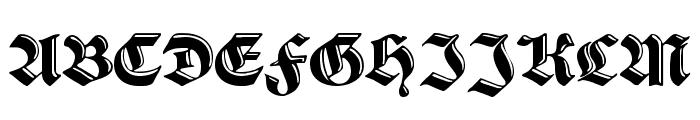 SchwabachDeko Font UPPERCASE