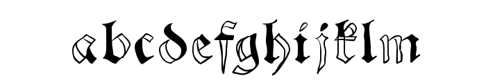 SchwabachScribbels Font LOWERCASE