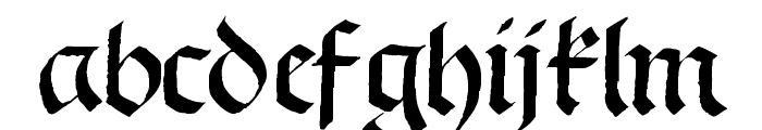 Schwabach Font LOWERCASE