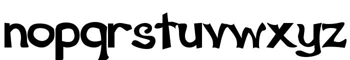 Schwarz Regular Font LOWERCASE