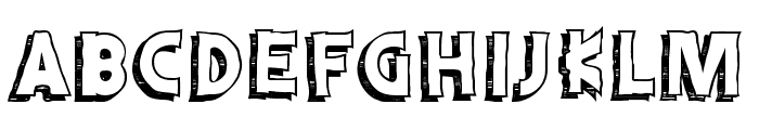 Schwifty Font UPPERCASE