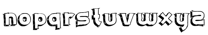 Schwifty Font LOWERCASE