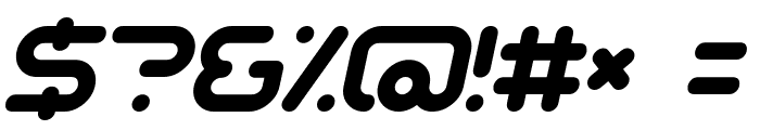 Sci Fied Italic Font OTHER CHARS