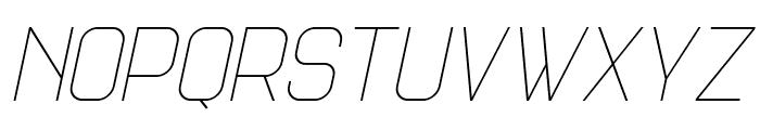 Science Fair Light Italic Font LOWERCASE