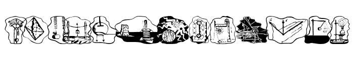 ScienceBats Font UPPERCASE