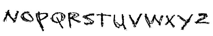 Sckoolhouse Font UPPERCASE