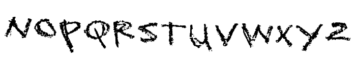 Sckoolhouse Font LOWERCASE