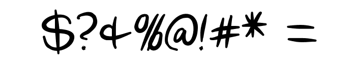 Scoder Refined Font OTHER CHARS