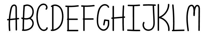 Scoop Normal Font UPPERCASE