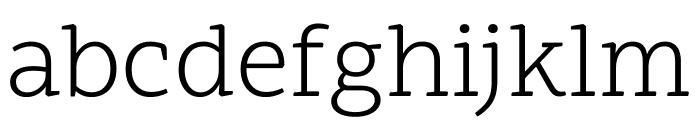 Scope One Regular Font LOWERCASE